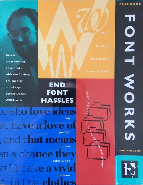 FontWorks Express front
